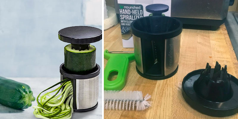 Review of So Nourished Veggie Spiral Cutter Zoodle Maker