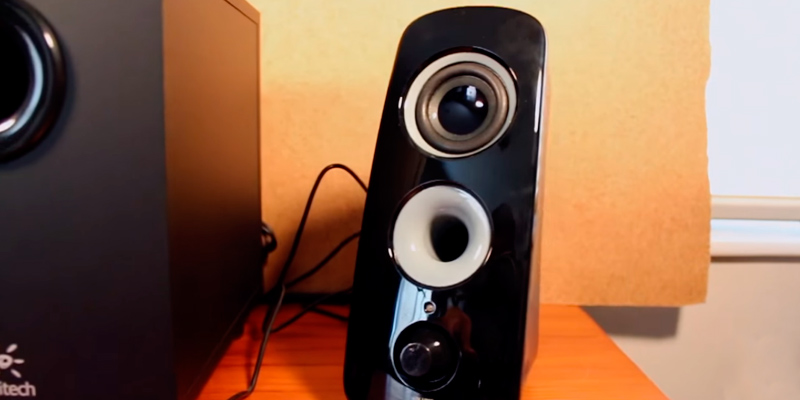 Logitech Z323 Speaker System in the use