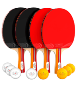 NIBIRU SPORT Set (4-Player Bundle) Ping Pong Paddle