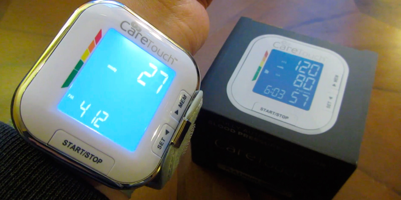 Review of Care Touch Wrist Blood Pressure Monitor