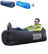 ORSEN Water Proof& Anti-Air Leaking Inflatable Lounger