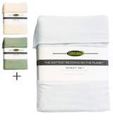 Cariloha Classic Bamboo Bed Sheet Set
