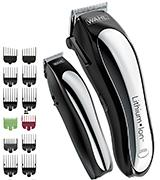 Wahl 79600-2101 Hair Cutting Kit with 10 Guide Combs
