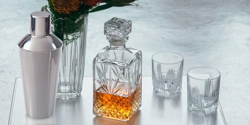 Bormioli Rocco Whiskey Glass Set application