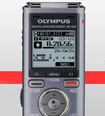 Review of Olympus WS-822 GMT 4 GB Built-In-Memory