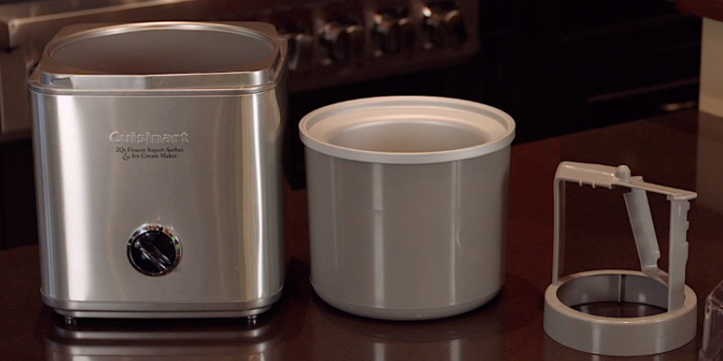 Detailed review of Cuisinart ICE-30BC Frozen Yogurt, Sorbet & Ice Cream Maker