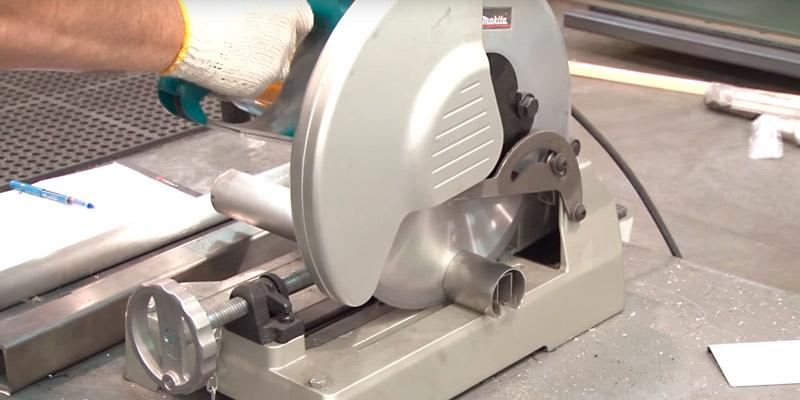 Makita LC1230 Metal Cutting Saw in the use