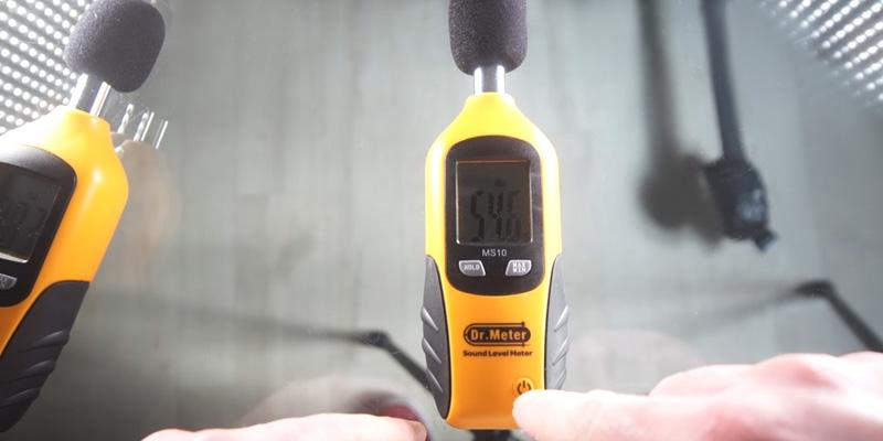 Detailed review of Dr.Meter MS10 Digital Decibel