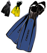 Cressi PRO LIGHT Open Heel Scuba Diving Fins