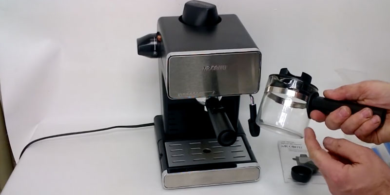 Mr. Coffee ECM160 4-Cup Steam Espresso System with Milk Frother application