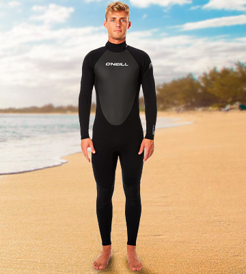 Review of O'Neill Wetsuits Reactor 3/2mm Back Zip Full Scuba Wetsuits