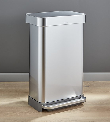 Review of Simplehuman CW2024 Kitchen Step Trash Can with Liner Pocket
