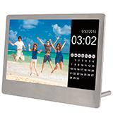 Sylvania SDPF7977 Stainless Steel Digital Photo Frame