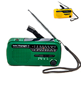 Kaito 4336302721 Portable Solar/Hand Crank AM/FM, Shortwave & NOAA Weather Emergency Radio with USB Charger & LED Flashlight