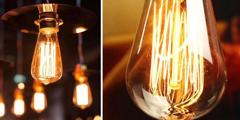 Review of KINGSO 60W Antique Dimmable Edison Bulbs