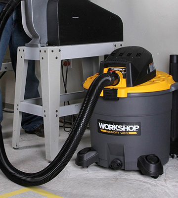 Review of WORKSHOP WS1600VA 16 Gallon 6.5 Peak HP Shop Vacuum Cleaner
