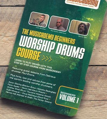 Review of Musicademy Worship Drums for beginners