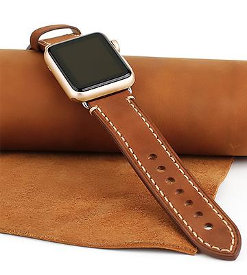 Review of Mkeke Leather Apple Watch Band