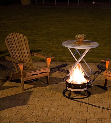 Review of Heininger 5995 Portable Propane Outdoor Fire Pit