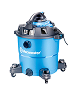 Vacmaster VBV1210 12 Gallon, 5.0 Peak HP Wet/Dry Vacuum with Blower