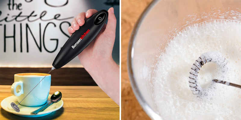 Review of Bonsenkitchen Classic Handheld Milk Frother