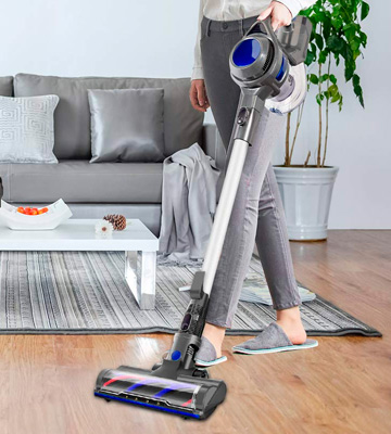 Review of MOOSOO M XL-618A Cordless Vacuum 10Kpa Powerful Suction 4 in 1 Stick Handheld Vacuum Cleaner