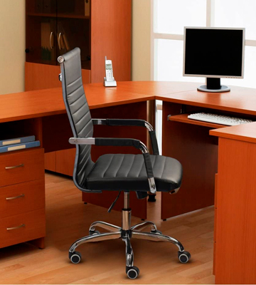 Review of Furmax Ribbed Home and Office Desk Chair