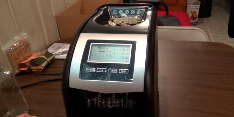 Review of Royal Sovereign FS-44P Coin Counter and Sorter