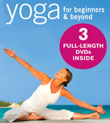 bodywisdom media Yoga for Beginners: Boxed Set 3 DVD set