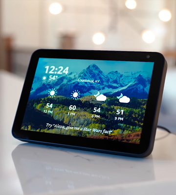 Review of ECHO Show 8 HD Smart Display with Alexa
