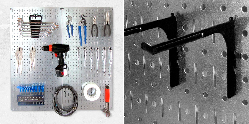 Review of Wall Control 30-P-3232GV Galvanized Steel Pegboard