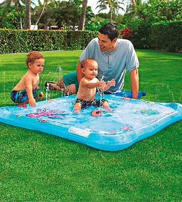 Review of One Step Ahead Fountain Sprayers Baby Pool