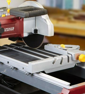 Review of Chicago Electric Power Tools Industrial Tile/Brick Saw