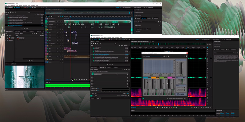 Adobe Audition CC: Audio Recording, Mixing, and Restoration in the use