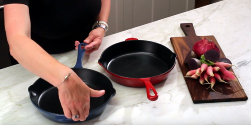 Review of Cuisinart CI22-24CR Enameled Cast Iron Fry Pan