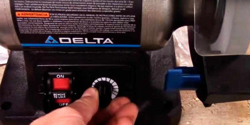 Delta 23-197 Variable Speed in the use