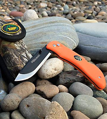 Review of Outdoor Edge Razor-Lite Replaceable Stainless Steel Blade Kraton Handle