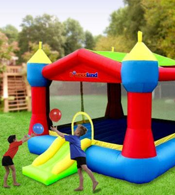 Review of Bounceland Inflatable Party Castle Bounce House Bouncer