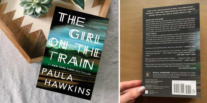 Paula Hawkins The Girl on the Train in the use