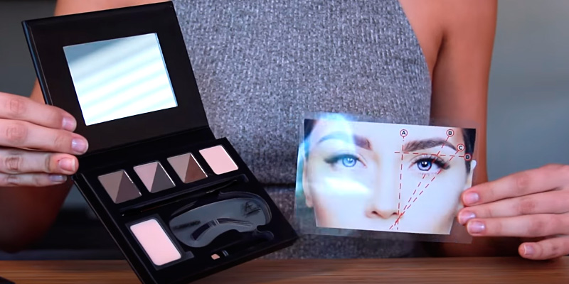 Review of Aesthetica Contour Series Eyebrow Kit