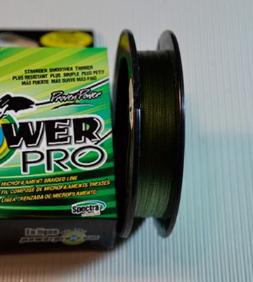 Review of Power Pro Proven Power Braided Fishing Line