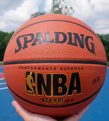 Review of Spalding NBA Street Outdoor Basketball