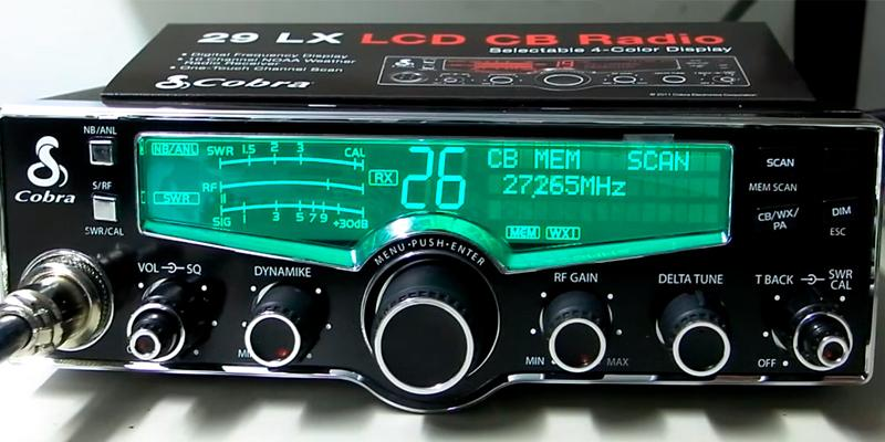 Review of Cobra 29 LX CB Radio with Instant Access Weather Stations