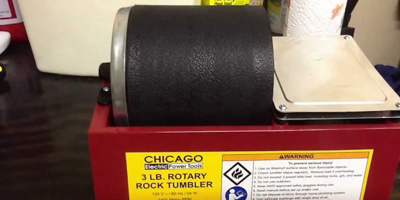 Review of Chicago Electric Power Tools Rotary Rock Tumbler