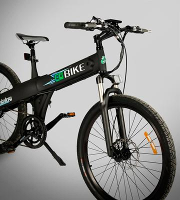 Review of E-GO BIKE Lightning Matt Black Electric Bicycle
