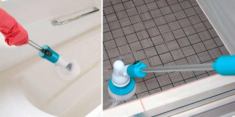 Review of DoubleFly Spin Scrubber 360 Cordless Tub and Tile Scrubber