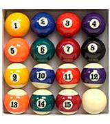 Yves Empire USA Deluxe Pool Ball Set