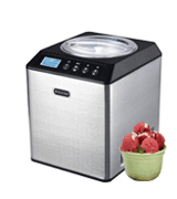 Whynter ICM-201SB Stainless Steel Bowl Ice Cream Maker