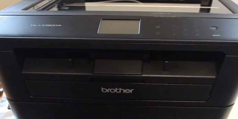 Brother HL-L2380DW Wireless Monochrome Laser Printer in the use