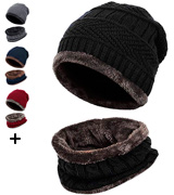 Loritta Beanie Hat with dual layers